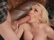 Amber Jayne gets destroyed with Danny D facial cumshots