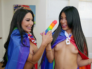 Rainbow Lust Featuring Veronica Rodriguez and Lela Star - Reality Kings HD