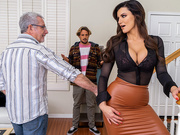 A Slippery Situation Starring Becky Bandini - Brazzers HD