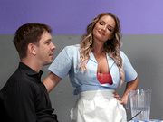 Yes, In Front of My Salad Starring Cali Carter - Brazzers HD