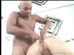 Nasty fisting files anal insertions with his long arn